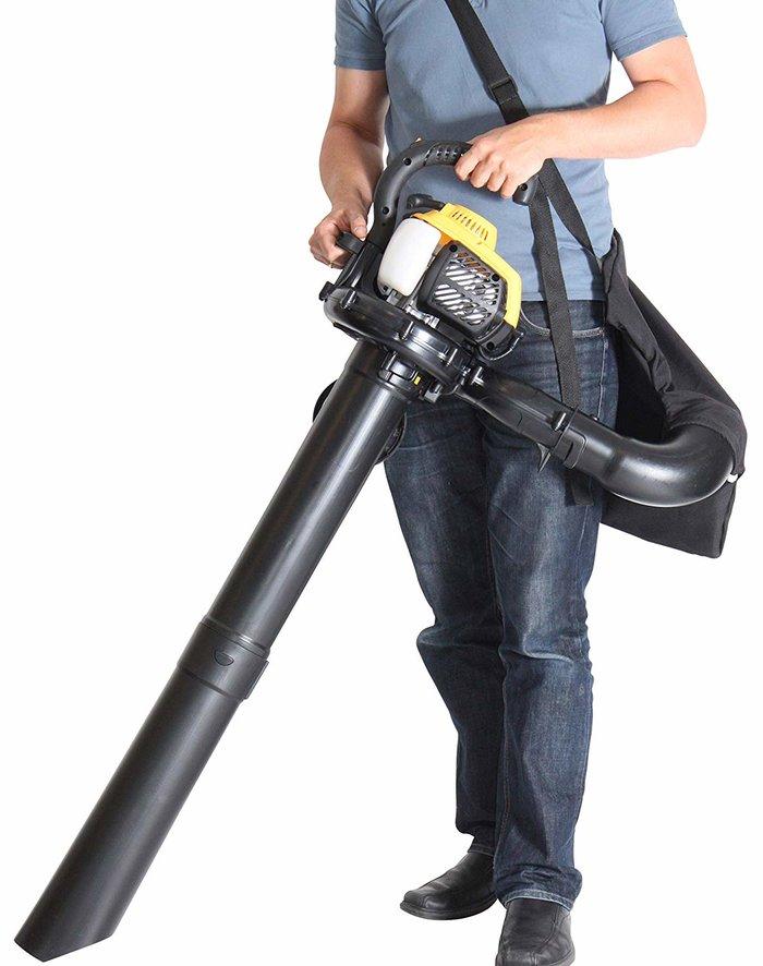 Der Texas GBV 260 bietet Ihnen leichte, einfache Handhabung und optimale Funktion - Laubhäcksler und 40 Liter Fangsack bieten die richtigen Voraussetzungen für effizientes Arbeiten ****