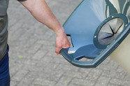 Transport: Griffe im Trichter für die handliche Fahrt zum Einsatz.