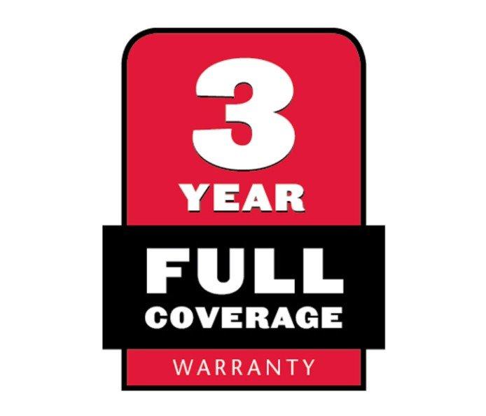3 Jahre Komplett Garantie