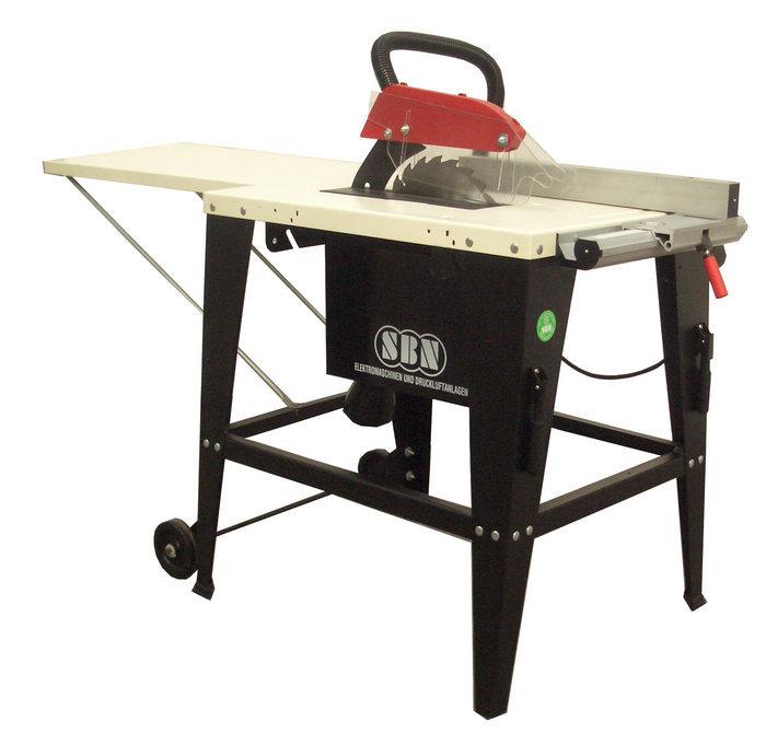 Tischsägen:                     SBN - Tischkreissäge TKSVB 230 Volt