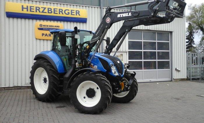 Gebrauchte                                          Traktoren:                     New Holland - Traktor New Holland T5.120 EC TIER 4B (gebraucht)