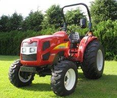 Kommunaltraktoren: Shibaura - Traktor Schlepper ST450HST