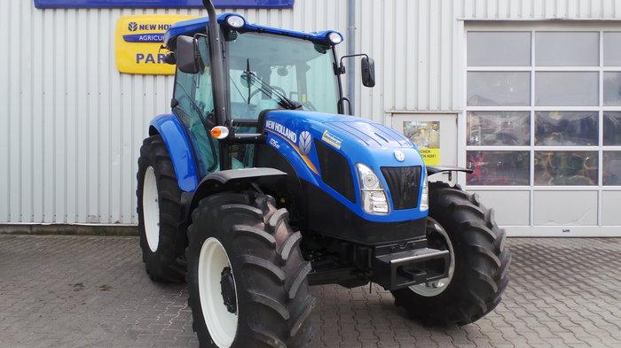 Gebrauchte                                          Traktoren:                     New Holland - Traktor TD 5.85 (gebraucht)