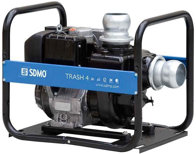 Frisch- und Schmutzwasserpumpen:                     SDMO - Trash 4