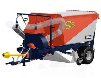 Kommunaltechnik:                     Trilo - Trilo S3 Laubsaugwagen