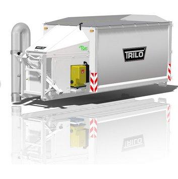 Kommunaltechnik:                     Trilo - Trilo T25 Saugcontainer