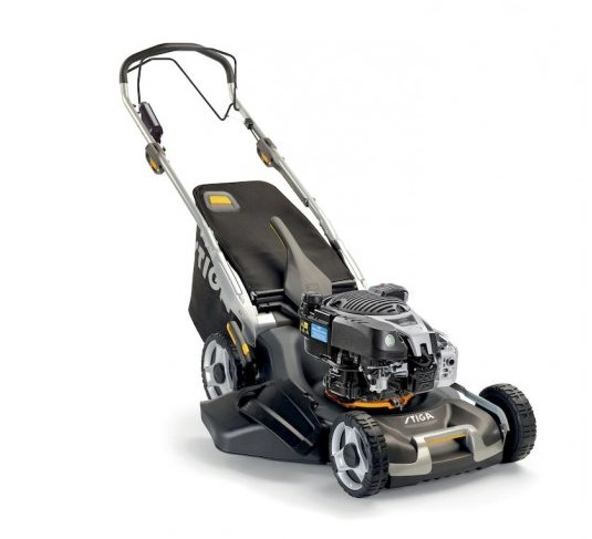 Benzinrasenmäher:                     Stiga - Twinclip 50 SEQB