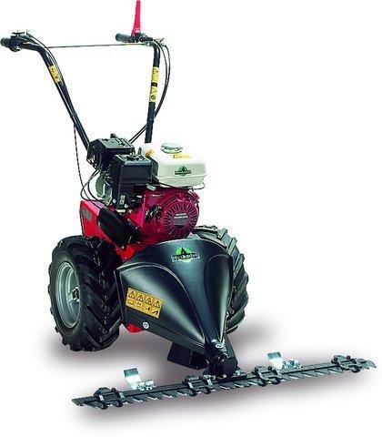 Mit dieser Maschine schließt sich die Lücke zwischen Hobby- und Profibereich - endlich ist auch für den semiprofessionellen Einsatz ein Gerät mit hydrostatischem Antrieb verfügbar.