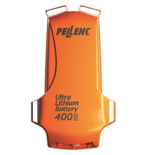 Modell ULiB 400: Typ Li-Ion; Gewicht 3,4 kg; Ø Lebensdauer in Zyklen 800 -1200; Ladedauer 5 Stunden; 1,2-A-Ladegerät; Traggeschirr