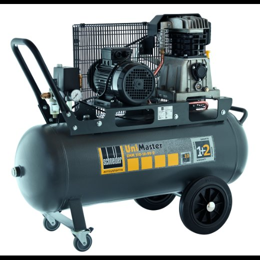 Druckluftkompressoren:                     Schneider Airsystem - UNM 510-10-90 D