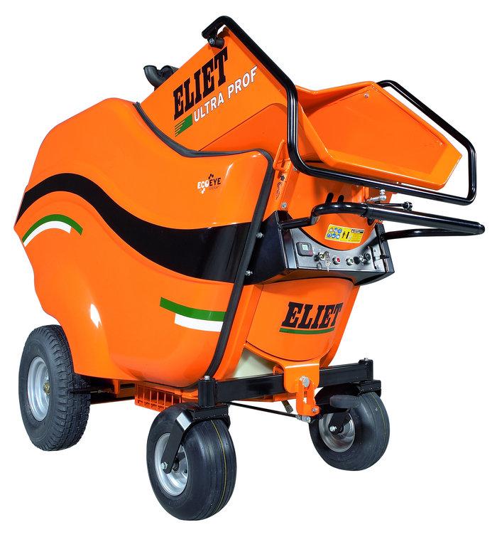 Gartenhäcksler:                     Eliet - Ultra Prof 24 PS Honda GX 670
