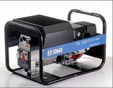 Stromerzeuger: SDMO - VX 220/7,5 H