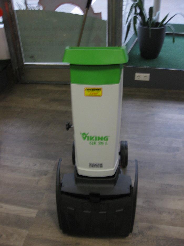 Gebrauchte                                          Gartenhäcksler:                     Viking - Viking Leisehäcksler GE35L (gebraucht)