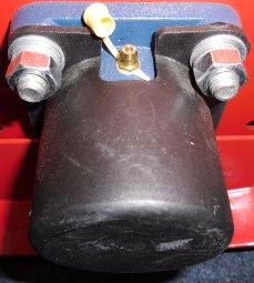 Enorm robuste Profimaschine - Vollmetallräder mit Gummilauffläche für dauerhaft exzellentes Vorwärtskommen + mit extrem großsimensionierten Profi-Kugellagern versehen - abschmierbare Heavy-Duty-Gussflanschlager, die bei gezielter Verwendung der Fettpresse so gut wie unkaputtbar sind - Originalbilder vom angebotenen Vorführgerät - nur gering benutzt und mit voller Neugeräte-Gewährleistung