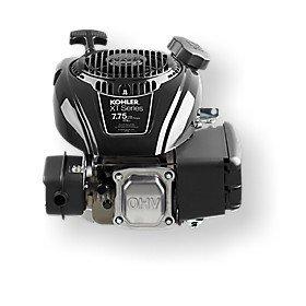 Hochleistungsmotor von Honda.  Leistungsstark und startfreudig.