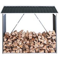 Angebote Holzspalter: WOODSTORE - WOODSTORE Premium-Metall-Holzlager Brennholz praktisch+perfekt+preiswert lagern (Aktionsangebot!)