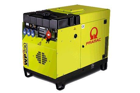 Stromerzeuger:                     Pramac - WP 180 LC180MYA (230V/400V)