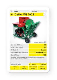Mieten Wippkreissägen: Oehler - WS 700 B (mieten)