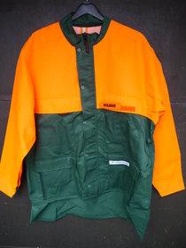 Jacken: Dolmar - Waldarbeiter Arbeitsjacke Dolmar HF Classic grün/orange