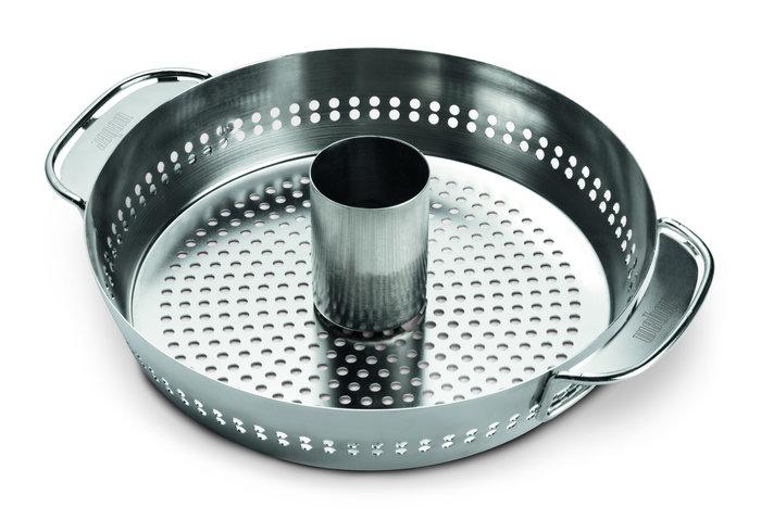 Grillpfannen und -bleche:                     Weber-Grill - Weber Gourmet BBQ - Geflügelhalter Einsatz (Art.-Nr.: 8838)