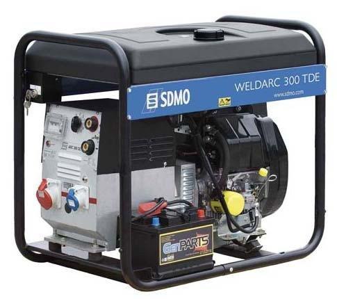 Stromerzeuger:                     SDMO - Weldarc 300 TDE XL C