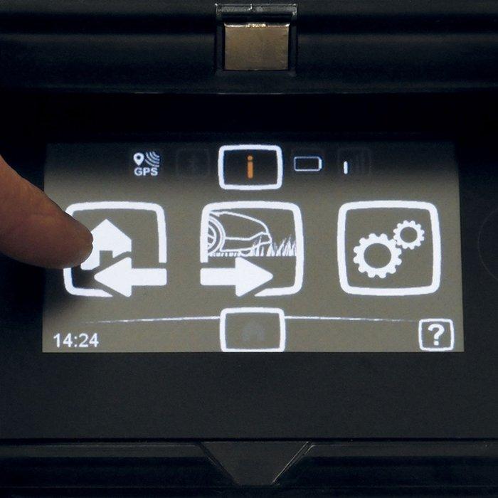 Touchscreen Bedienung
