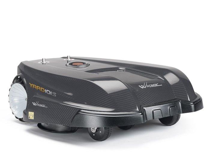 Mähroboter:                     Herkules - Wiper Professional Yard 101 S inkl. Bluetooth & GSM-Modul & GPS