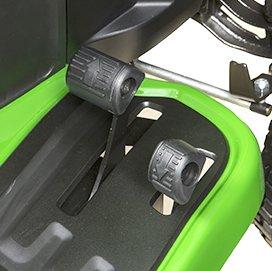Hydroautomatische Geschwindigkeits- und Fahrtrichtungskontrolle mit zwei Pedalen