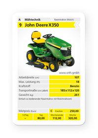 Rasentraktoren: John Deere - X 350