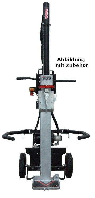 Holzspalter:                     Widl - XM - 14/E (Spalter ohne Zubehör 82.131)