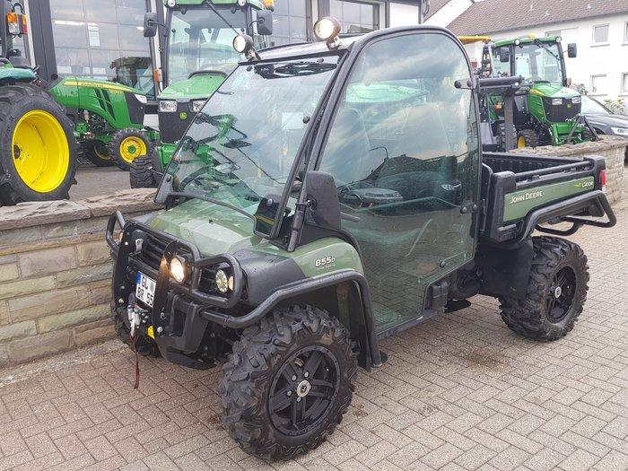 Gebrauchte                                          Transport Fahrzeuge :                     John Deere - XUV 855 D 4x4 (gebraucht)