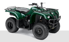 ATVs: Yamaha - YFM660 FWA Grizzly blau