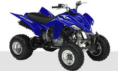 Quads: Yamaha - YFM350R blau