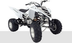Quads: Yamaha - YFM700R blau