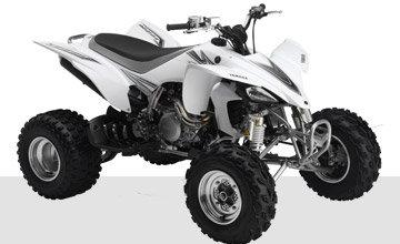 Quads:                     Yamaha - YFZ450 weiß