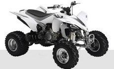 Quads: Yamaha - YFM350R weiß