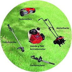 Kombigeräte: Honda - UMC 435