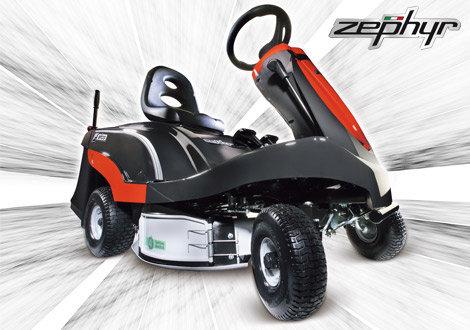 Gebrauchte                                          Gartentraktoren:                     Efco - Zephyr Aufsitzmäher - Neumaschine - nicht (gebraucht)