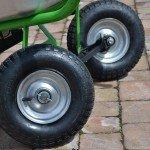Parallel lenkbare Zusatzhinterräder,passendzu allen MOTOkarren.