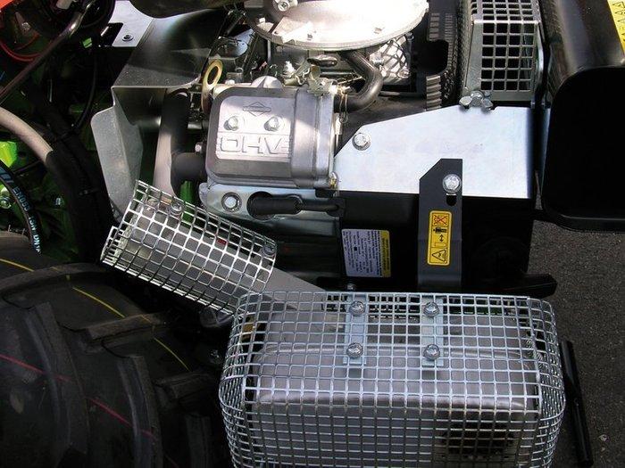 agria 5900 Cyclone 22  Optimierte Luftansaugung schützt den Motor vor Überhitzung