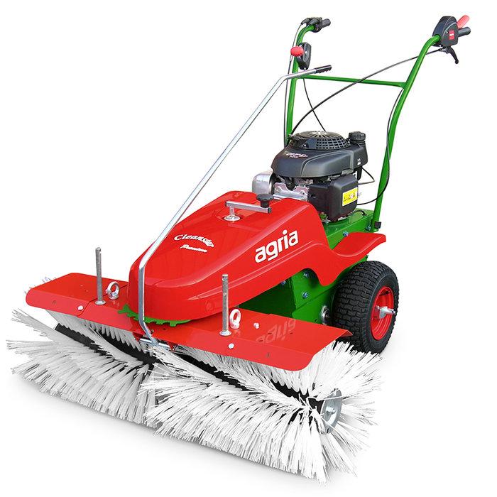 Kehrmaschinen:                     agria - agria 7100 Cleanstar premium (feine Borsten, Preis ohne Triebräder)