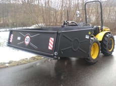 Gebrauchte  Allzwecktransporter: Meccanica Benassi - MB 5000 6 PS 500kg Raupentransporter - hydraulisch kippbar (gebraucht)