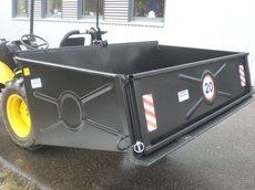 Kompakttraktoren: Yanmar - GK 200 mit Ackerstollenbereifung