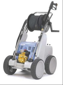 Heißwasser-Hochdruckreiniger: Kränzle - quadro 1500 TS T mit Turbokiller, Edelstahlfahrwerk