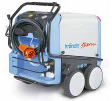 Heißwasser-Hochdruckreiniger: Kränzle - therm CA 12/150 mit Schlauchtrommel