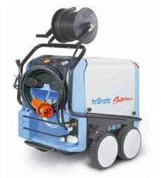Heißwasser-Hochdruckreiniger: Kränzle - therm CA 11/130 mit Schlauchtrommel