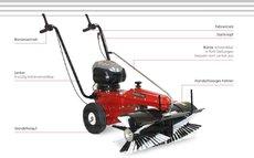 Kehrmaschinen: Tielbürger - tk 38 professional (B&S 675 EXI Handstart)