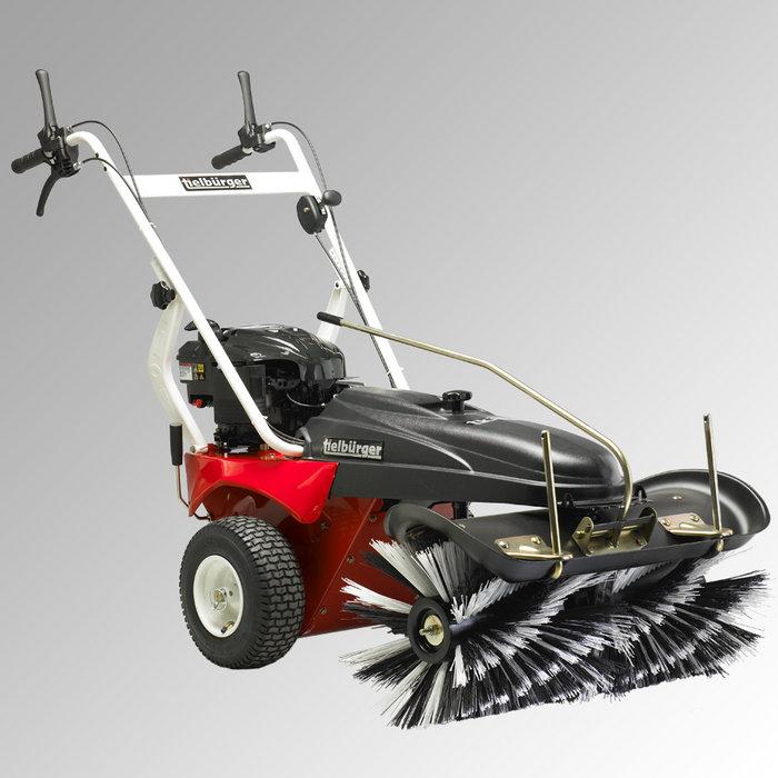 Kehrmaschinen:                     Tielbürger - tk38 professional (Honda GCV135)