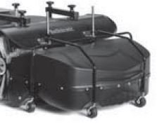 Kunststoff-Kehrgutbehälter - 4 stabile Schwenkrolle, - Stahlrohrrahmen - Fassungsvermögen: 80 Liter - Entleerung durch Kippmechanismus Preis: 422,00 EUR